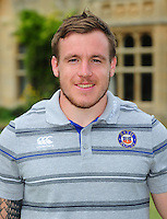 Matt Egan poses for a portrait at a Bath Rugby photocall. Bath Rugby Media Day on August 24, 2016 at Farleigh House in Bath, England. Photo by: Patrick Khachfe / Onside Images