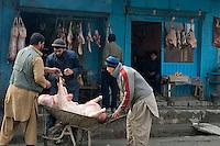 Kabul street scene.