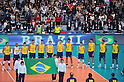 Brazil Men's Volleyball Team Group (BRA), DECEMBER 4,2011 - Volleyball : FIVB Men's Volleyball World Cup 2011,4th Round Tokyo(A) during match between Japan 0-3 Brazil at 1st Yoyogi Gymnasium, Tokyo, Japan. (Photo by Jun Tsukida/AFLO SPORT) [0003]..