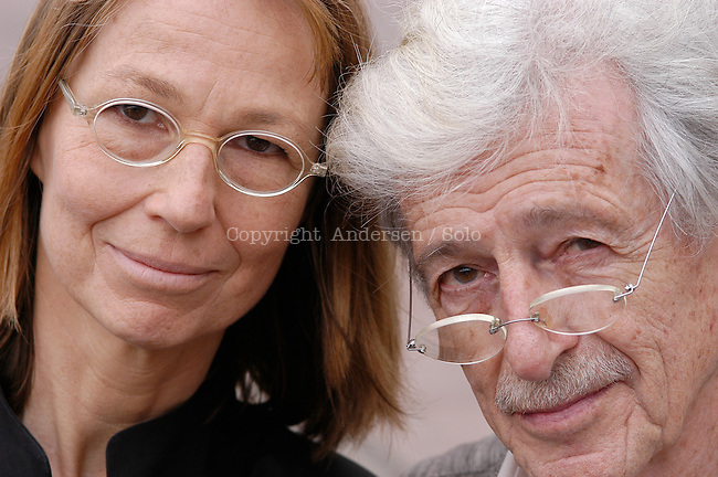 Francoise and Hubert Nyssen, publisher.