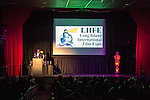 Bellmore, New York, USA. 16th July 2015. KEVIN BROWN, DOT COM on the TV series 30 ROCK, hosts the LIIFE Awards Ceremony at Bellmore Movies. It was the 18th Long Island International Film Expo.