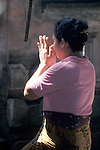 Woman in Prayer - Bali, Indonesia