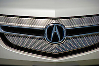 Acura,  Auto, Oyster White, Front Emblem, Close up, Cars, Auto, Automobile, Transportation,