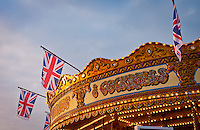 Carousel on Brighton Pier, Brighton, East Sussex, Britain - 2010