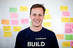 Academia.edu founder and CEO Richard Price poses for a portrait in their San Francisco offices, April 18, 2012.