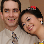 Taiwanese Wedding -- The couple.