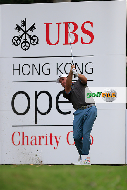 Graeme McDowell (NIR) on the 11th tee during Round 1 of the 2015 UBS Hong Kong Open at the Hong Kong Golf Club in The Netherlands on 2/10/15.<br /> Picture: Thos Caffrey | Golffile