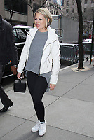 NEW YORK, NY - APRIL 14: Dylan Dreyer seen in New York City on April 14, 2017. Credit: RW/MediaPunch