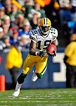 5 November 2006: Green Bay Packers wide receiver Shaun Bodiford (19) in action against the Buffalo Bills at Ralph Wilson Stadium in Orchard Park, NY. The Bills defeated the Packers 24-10. Mandatory Photo Credit: Ed Wolfstein Photo.<br />