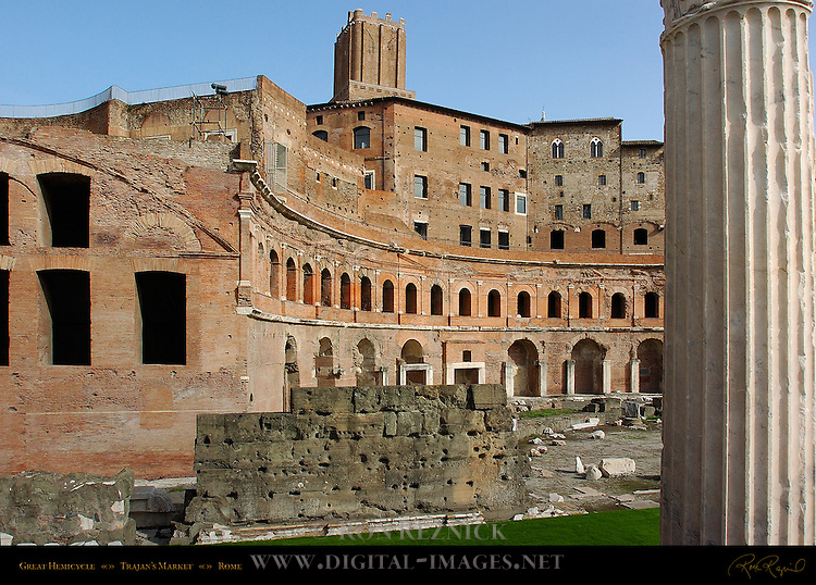Great Hemicycle of Trajan's Market Torre delle Milizie and Medieval Apartments Trajan's Forum Rome