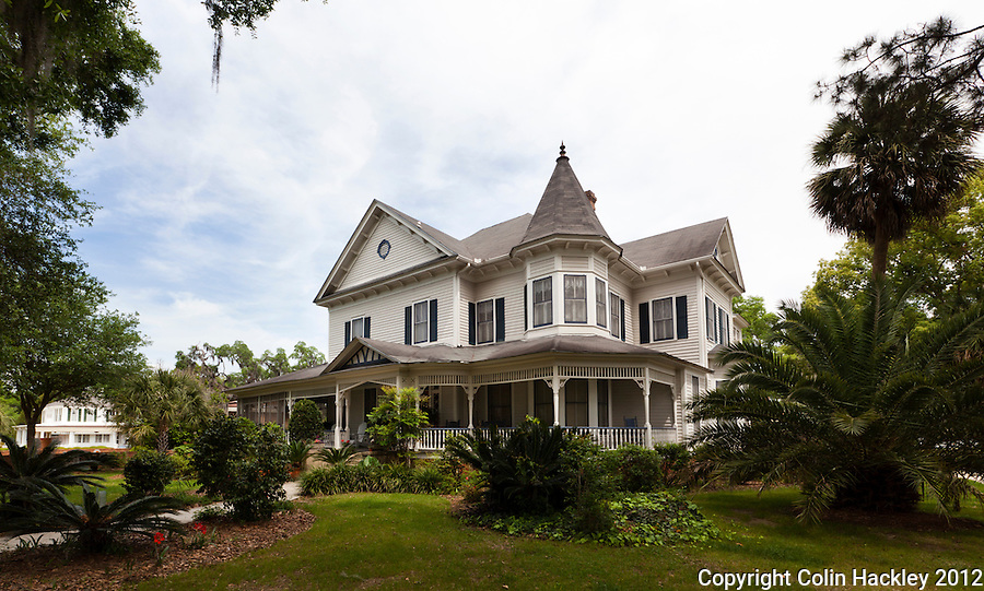 QUEEN ANNE CLASSIC: The Chandler H. Smith House on Range Street was built in 1896. The Queen Anne-style home is on the National Register of Historic Places..SOURCE: Walking/Driving Tour of Historic Madison, Fla..COLIN HACKLEY PHOTO