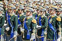 L'AQUILA (AQ) 21/06/2012 - 238° ANNIVERSARIO DELLA SCUOLA GUARDIA DI FINAZA A L'AQUILA, PRESENTI ALLA FESTA IL PRESIDENTE DELLO STATO GIORGIO NAPOLITANO E IL PREMIER MARIO MONTI. NELLA FOTO ALCUNI PARTICOLARI DEI COMPONENTI DEL CORPO MILITARE DELLA GDF. FOTO DI LORETO ADAMO