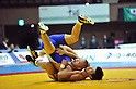 (L to R) #Red Ryutaro Matsumoto, #Blue Kazuma Kuramoto, DECEMBER 21, 2011 - Wrestling : All Japan Wrestling Championship Men's Greco-Roman Style -60kg Final at 2nd Yoyogi Gymnasium, Tokyo, Japan. (Photo by Jun Tsukida/AFLO SPORT) [0003]