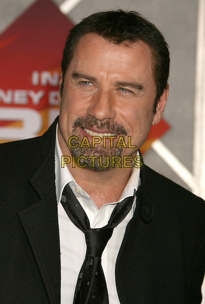 "JOHN TRAVOLTA.""Bolt"" Disney World Premiere held at the El Capitan Theatre, Hollywood, California, USA..November 17th, 2008.headshot portrait goatee facial hair.CAP/ADM/MJ.©Michael Jade/AdMedia/Capital Pictures."