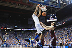 UK forward, Skal Labissiere, dunks the ball in their game against Miss. St. at Rupp Arena in Lexington, Ky. on Tuesday,January 12, 2016. Photo by Josh Mott | Staff.