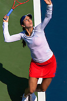 NEW YORK, NY - August 27, 2013: Christina McHale (USA) during her first round single's match at the 2013 US Open in New York, NY on Tuesday, August 27, 2013.