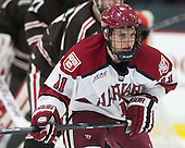 Kyle Criscuolo (Harvard - 11) - The visiting Brown University Bears defeated the Harvard University Crimson 2-0 on Saturday, February 22, 2014 at the Bright-Landry Hockey Center in Cambridge, Massachusetts.