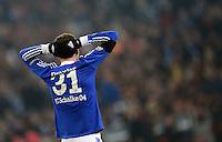 FUSSBALL  CHAMPIONS LEAGUE  ACHTELFINALE  Rueckspiel  2012/2013      FC Schalke 04 - Galatasaray Istanbul                   12.03.2013 Julian Draxler (FC Schalke 04) enttaeuscht