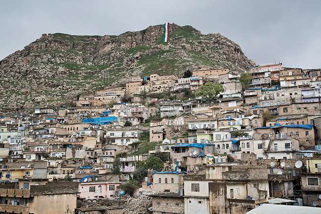 20/03/15 -- Akre, Iraq -- The city of Akre, in Iraqi Kurdistan, prepares for Newroz celebrations.