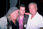 Sam Kinison, Charlie Sheen & Rodney Dangerfield , July 1987