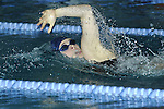 Elizabeth Beisel swims the in the Rhode Island state championship. Swimming in the 200 meter freestyle event, not only won the event but set new state record finishing in 1:50.32..Beisel is currently a member of the 2008 US Olympic Team.