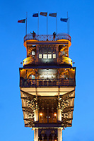 Santa Justa Lift (Elevador de Santa Justa), Lisbon, Portugal