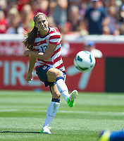 Sandy - Utah, Saturday, June 30, 2012: USWNT 2-1 over Canada during an international friendly match at Rio Tinto Stadium.