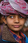 Portrait of a boy, Gujarat, India