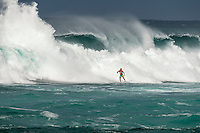 Sunset Beach, Oahu, HAWAII: (Wednesday, December 2, 2015): Julian Wilson (AUS) Wave built during the day at the Vans World Cup of Surfing with wave heights reaching 10 - 12ft later in the day. Round 3 was completed with some big scores handsome big names being knocked out.   Photo: joliphotos.com