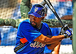 4 March 2009: New York Mets' outfielder Marlon Anderson takes batting practice prior to a Spring Training game against the Washington Nationals at Space Coast Stadium in Viera, Florida. The Nationals rallied to defeat the Mets 6-4 . Mandatory Photo Credit: Ed Wolfstein Photo