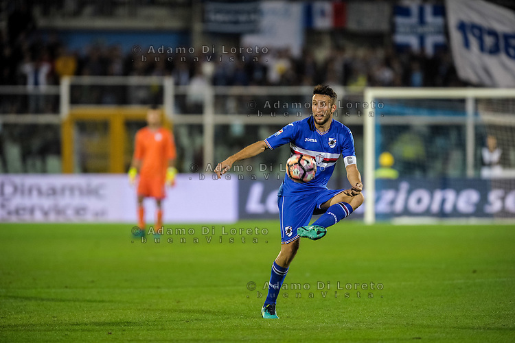 Regini Vasco (Sampdoria) during the Italian Serie A football match Pescara vs Sampdoria on October 15, 2016, in Pescara, Italy. Photo Adamo Di Loreto/BuenaVista*photo