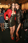 Actress Patricia Mota and Supermodel Omahyra Mota  - Arrivals: New Premium Lounge Signed by INDASHIO Men's Collection Fashion Show at AUDI FORUM, NY  9/13/11