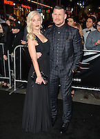 Michael Bisping &amp; Rebecca Bisbing at the Los Angeles premiere for &quot;XXX: Return of Xander Cage&quot; at the TCL Chinese Theatre, Hollywood. Los Angeles, USA 19th January  2017<br /> Picture: Paul Smith/Featureflash/SilverHub 0208 004 5359 sales@silverhubmedia.com
