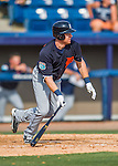 5 March 2016: Detroit Tigers outfielder Mike Gerber in action during a Spring Training pre-season game against the Washington Nationals at Space Coast Stadium in Viera, Florida. The Tigers fell to the Nationals 8-4 in Grapefruit League play. Mandatory Credit: Ed Wolfstein Photo *** RAW (NEF) Image File Available ***