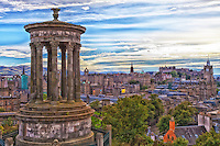 The Edinburgh skyline from Calton Hill