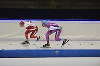 SCHAATSEN: HEERENVEEN: 16-01-2016 IJsstadion Thialf, Trainingswedstrijd Topsport, Michel Mulder, ©foto Martin de Jong