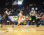 "Ole Miss's Shantell Black (11) vs. LSU on Sunday, January 17, 2010 at the C.M. ""Tad"" Smith Coliseum in Oxford, Miss."