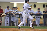 Ole Miss' Alex Yarbrough (2)  vs. Georgia in college baseball action at Oxford-University Stadium in Oxford, Miss. on Friday, April 8, 2011. Georgia won 9-8.