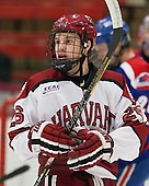 Luke Greiner (Harvard - 26) - The visiting University of Massachusetts Lowell River Hawks defeated the Harvard University Crimson 5-0 on Monday, December 10, 2012, at Bright Hockey Center in Cambridge, Massachusetts.