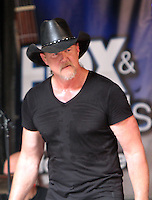 NEW YORK, NY-July 01: Trace Adkins perform on Fox & Friends All American Summer Stage   in New York. NY July 01, 2016. Credit:RW/MediaPunch
