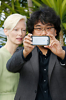 "Bong Joon-ho at the ""Okja"" photocall during the 70th Cannes Film Festival at the Palais des Festivals on May 19, 2017 in Cannes, France. Credit: John Rasimus /MediaPunch ***FOR USA ONLY***"
