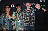 NEW YORK, NY-October 17:Priyanka Chopra, Aunjanue Ellis, Jake McLaughlin, Russell Tovey at PaleyFest New York presents Quantico at the Paley Center for Media in New York.October 17, 2016. Credit:RW/MediaPunch