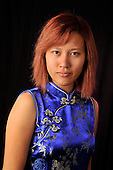 Royalty Free photo of asian woman from vietnam woman