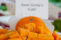 Aunt Gertie's Gold Heirloom Tomato