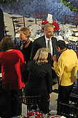 Washington, DC - January 20, 2009 -- Attorney General Nominee Eric Holder with his wife before the luncheon at Statuary Hall in the U.S. Capitol in Washington DC following Barack Obama's swearing in as the 44th President of the United States on January 20, 2009..Credit: Amanda Rivkin - Pool via CNP