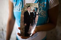 Portrait of Sergio Adrian Hernandez Guereca, 15 year - old who was killed yesterday by a Border Patrol agent pictured at his graduation from the secundaria. PHOTO COURTESTY OF THE HERNANDEZ GUERECA FAMILY