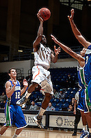 SAN ANTONIO, TX - NOVEMBER 23, 2013: The Texas A&M University Corpus Christi Islanders versus the University of Texas at San Antonio Roadrunners Men's Basketball at the UTSA Convocation Center. (Photo by Jeff Huehn)
