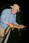 Richard Ferris Releasing Crocodile