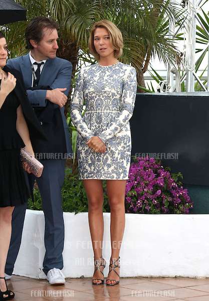 Rebecca Zlotowski at the 66th Cannes Film Festival - Grand Central photocall 18/05/2013 Picture by: Henry Harris / Featureflash