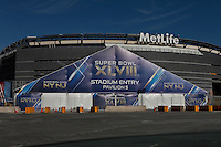 MetLife Stadium is seen in preparations ahead of Super Bowl XLVIII that will take place next sunday in New Jersey January 28, 2014 Photo by Kena Betancur / VIEWpress.